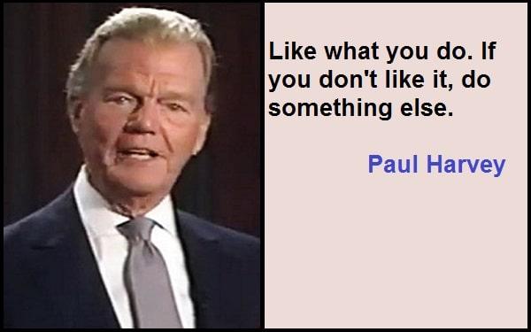 Inspirational Paul Harvey Quotes