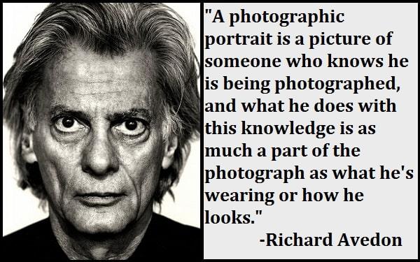 Inspirational Richard Avedon Quotes