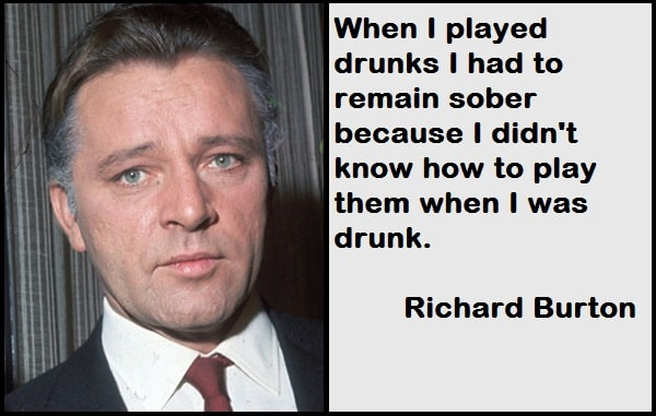 Inspirational Richard Burton Quotes
