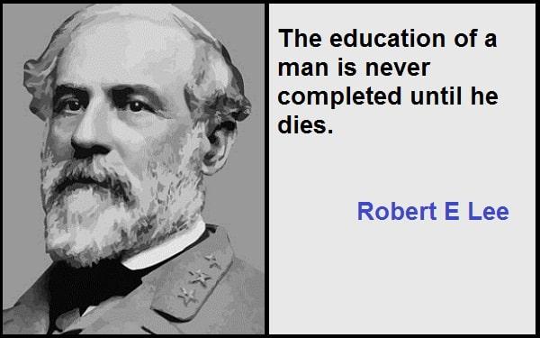 Inspirational Robert E Lee Quotes