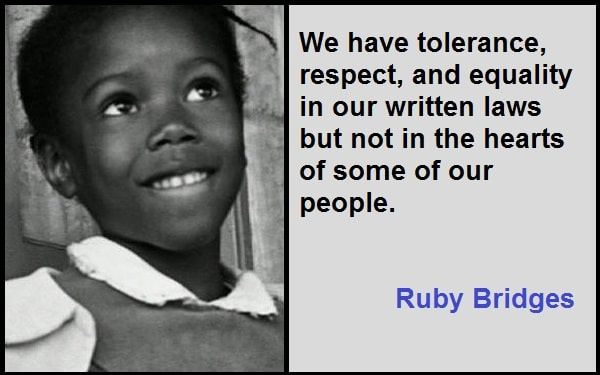 Inspirational Ruby Bridges Quotes
