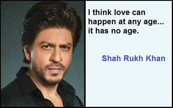 Inspirational Shah Rukh Khan Quotes