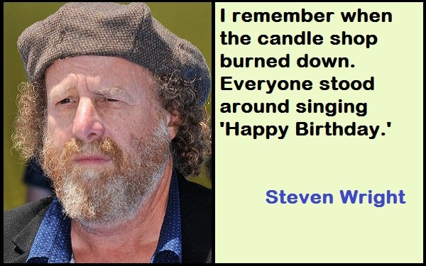 Inspirational Steven Wright Quotes