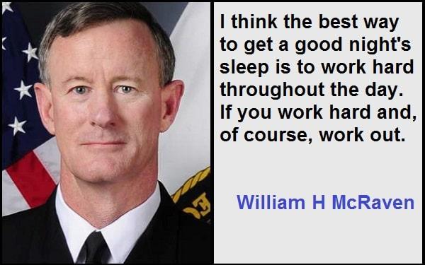 Motivational William H McRaven Quotes
