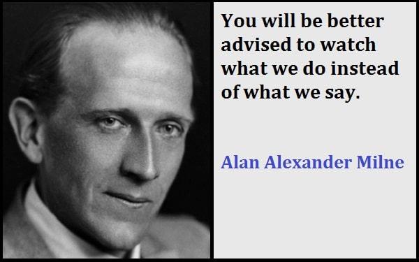 Inspirational Alan Alexander Milne Quotes