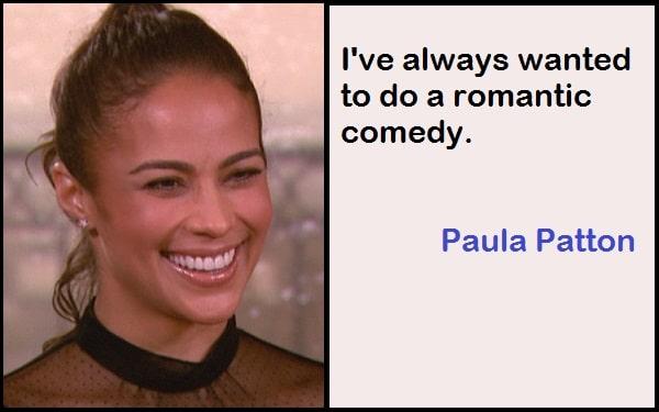 Inspirational Paula Patton Quotes