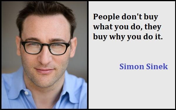 Inspirational Simon Sinek Quotes