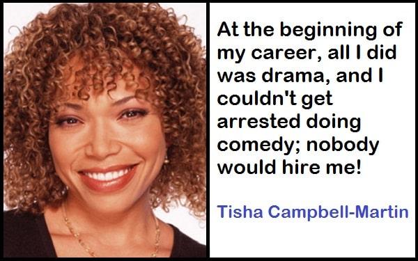 Inspirational Tisha Campbell-Martin Quotes