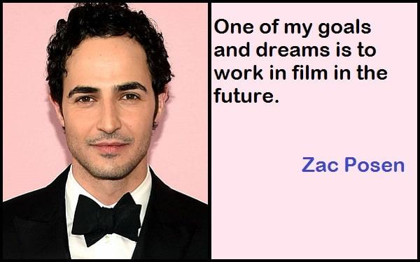 Inspirational Zac Posen Quotes