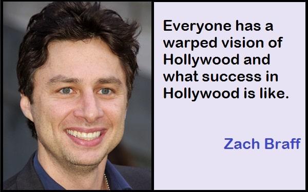 Inspirational Zach Braff Quotes