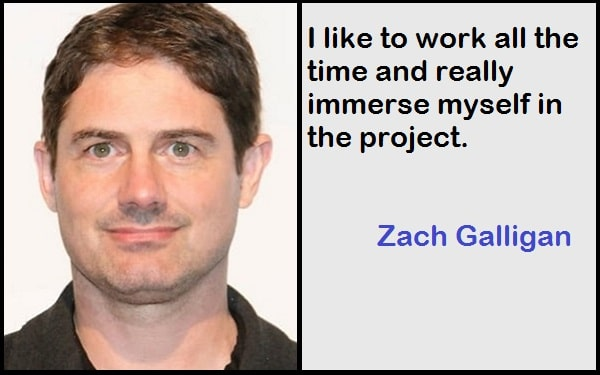 Inspirational Zach Galligan Quotes