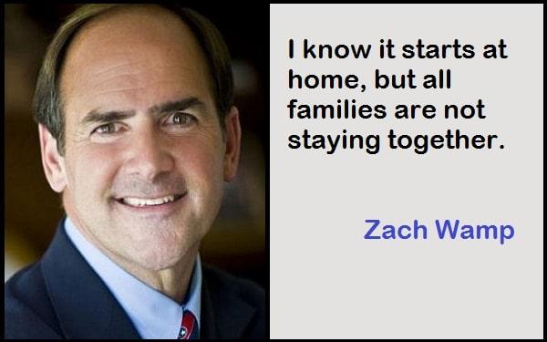 Inspirational Zach Wamp Quotes