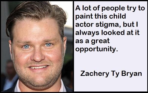 Inspirational Zachery Ty Bryan Quotes