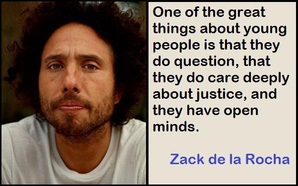 Inspirational Zack de la Rocha Quotes