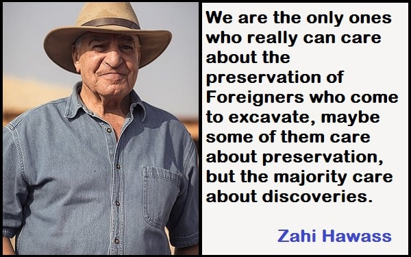 Inspirational Zahi Hawass Quotes