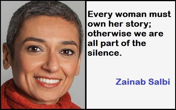 Inspirational Zainab Salbi Quotes
