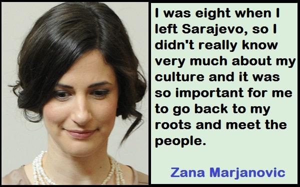Inspirational Zana Marjanovic Quotes