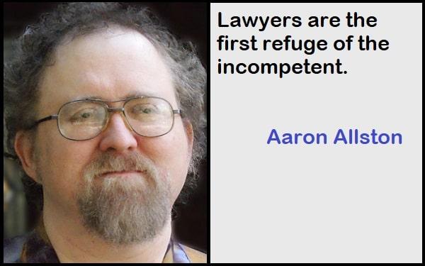 Inspirational Aaron Allston Quotes
