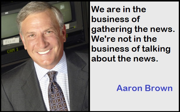 Inspirational Aaron Brown Quotes