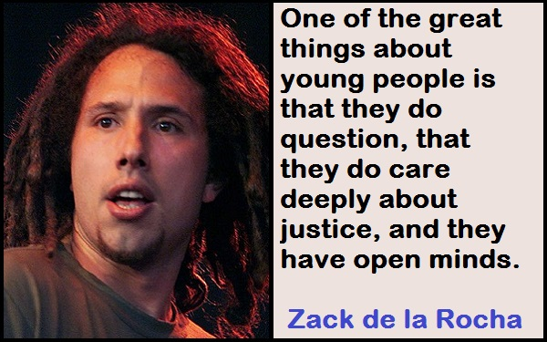 Inspirational Zack de la Rocha Quotes