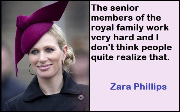 Inspirational Zara Phillips Quotes