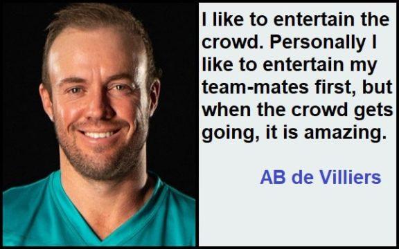 Inspirational AB de Villiers Quotes