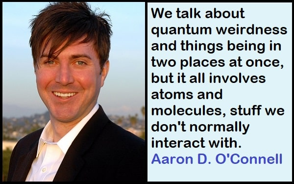 Inspirational Aaron D. O'Connell Quotes