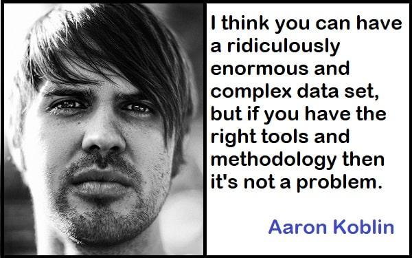 Inspirational Aaron Koblin Quotes