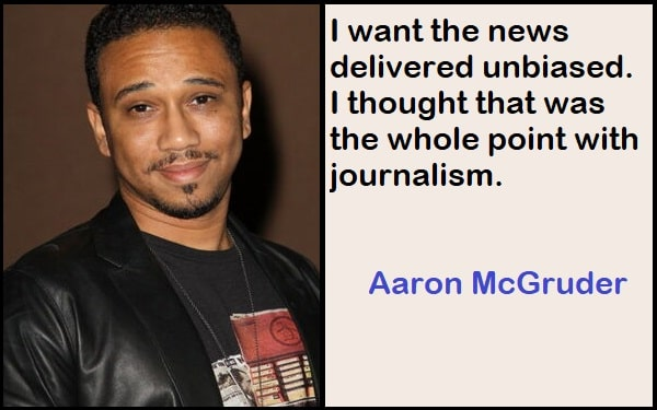 Inspirational Aaron McGruder Quotes