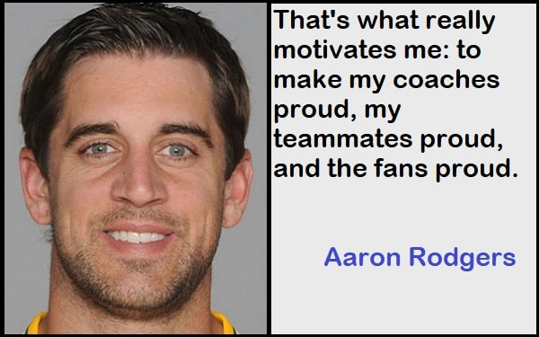 Inspirational Aaron Rodgers Quotes