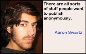 Inspirational Aaron Swartz Quotes