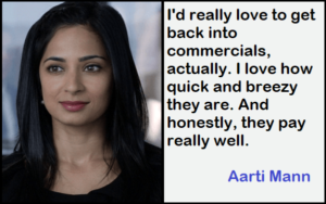 Inspirational Aarti Mann Quotes