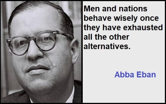 Inspirational Abba Eban Quotes