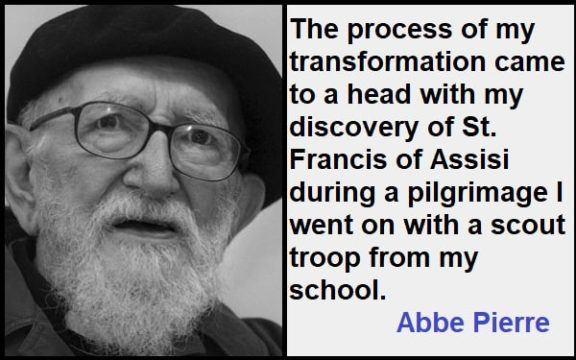 Inspirational Abbe Pierre Quotes