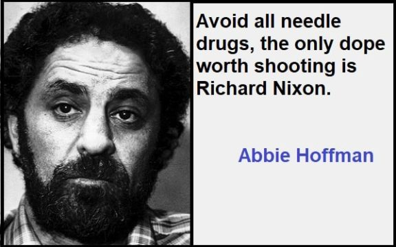 Inspirational Abbie Hoffman Quotes