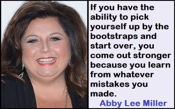 Inspirational Abby Lee Miller Quotes