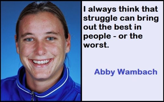Inspirational Abby Wambach Quotes