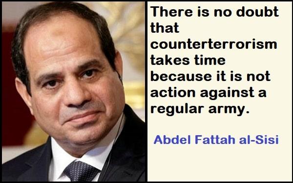 Inspirational Abdel Fattah al-Sisi Quotes