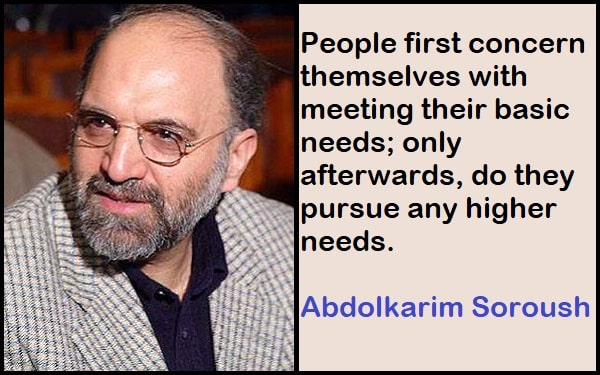 Inspirational Abdolkarim Soroush Quotes