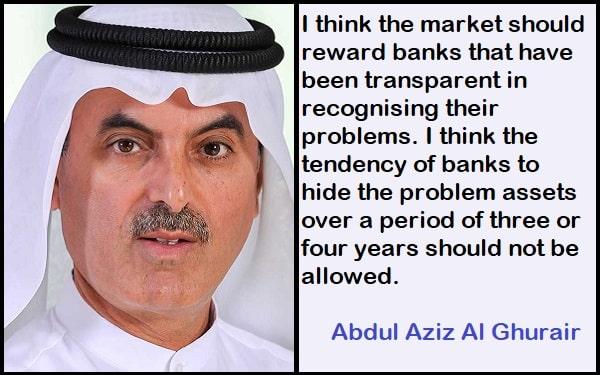 Inspirational Abdul Aziz Al Ghurair Quotes