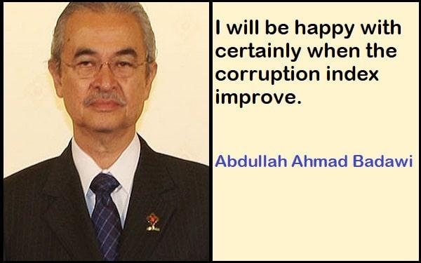 Inspirational Abdullah Ahmad Badawi Quotes