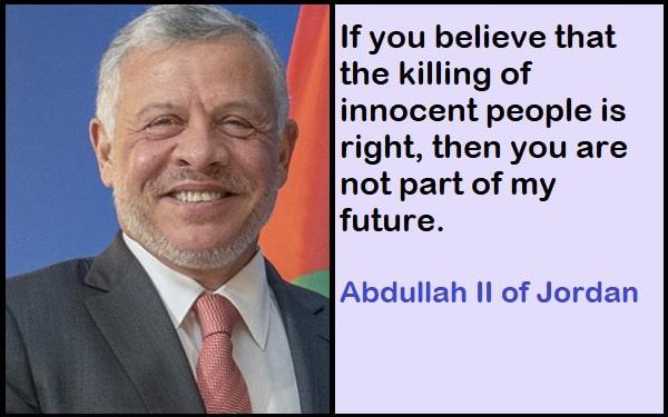 Inspirational Abdullah II of Jordan Quotes