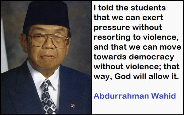 Inspirational Abdurrahman Wahid Quotes