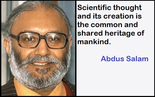Inspirational Abdus Salam Quotes