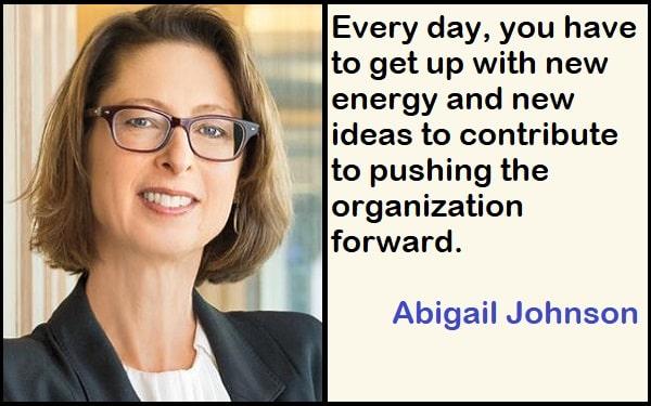 Inspirational Abigail Johnson Quotes