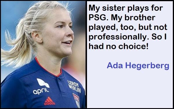 Inspirational Ada Hegerberg Quotes