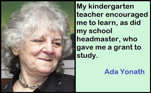Inspirational Ada Yonath Quotes