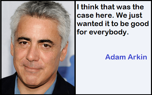 Inspirational Adam Arkin Quotes