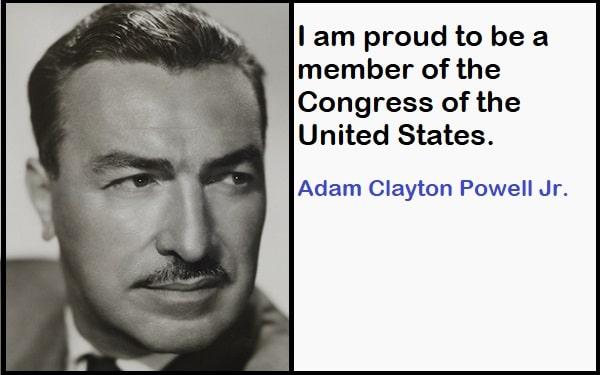 Inspirational Adam Clayton Powell Jr. Quotes