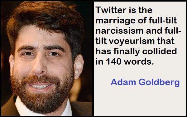 Inspirational Adam Goldberg Quotes
